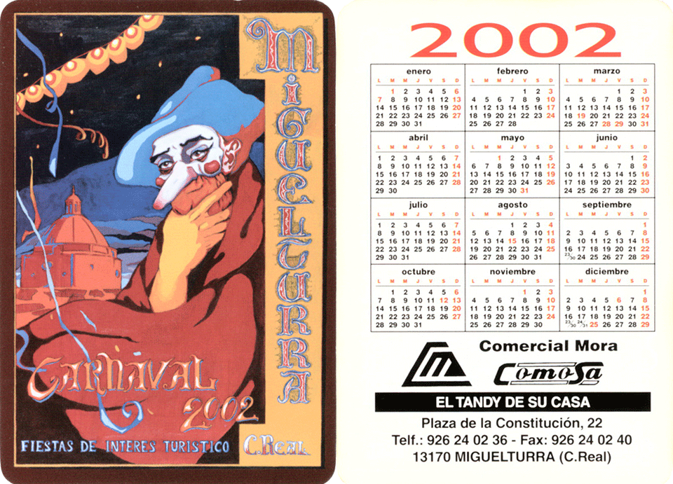 carnival-miguelturra-calendar-2002