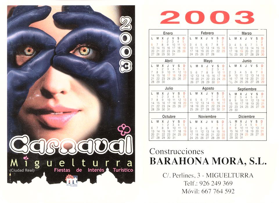 carnival-miguelturra-calendar-2003