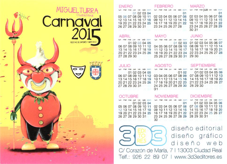 carnival-miguelturra-calendar-2015