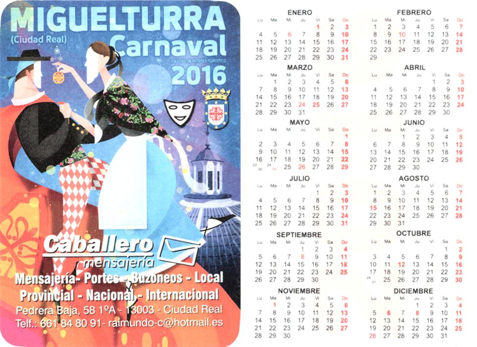 carnival-miguelturra-calendar-2016