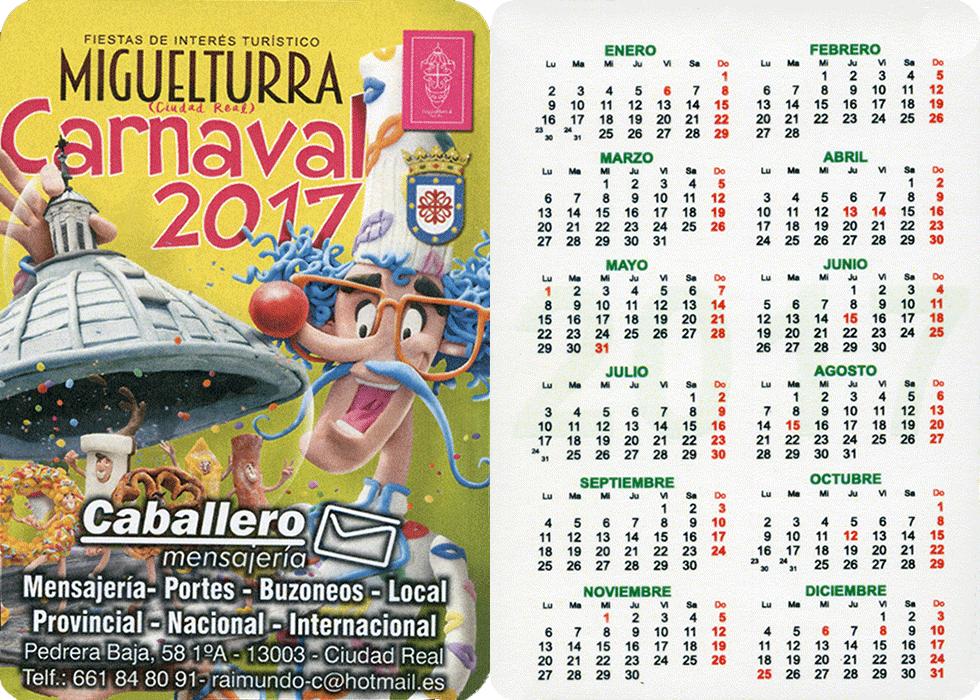 carnival-miguelturra-calendar-2017