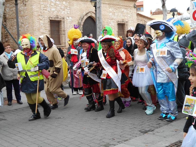 2ed3fe7668 Bases VII Carrera de Máscaras La Churriega   Carnaval de Miguelturra